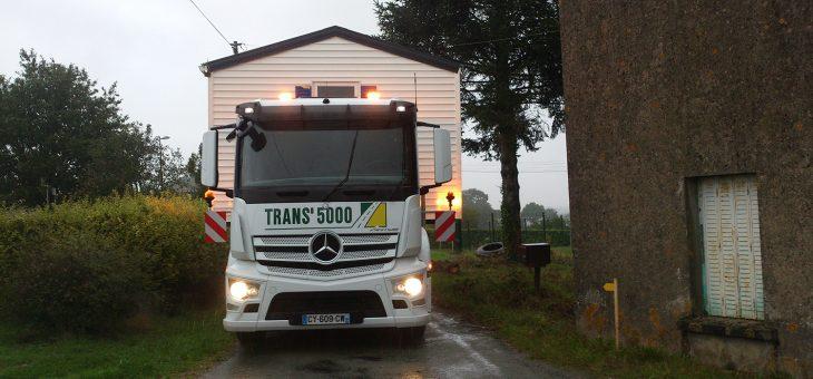 Transports de marchandises sur plateaux