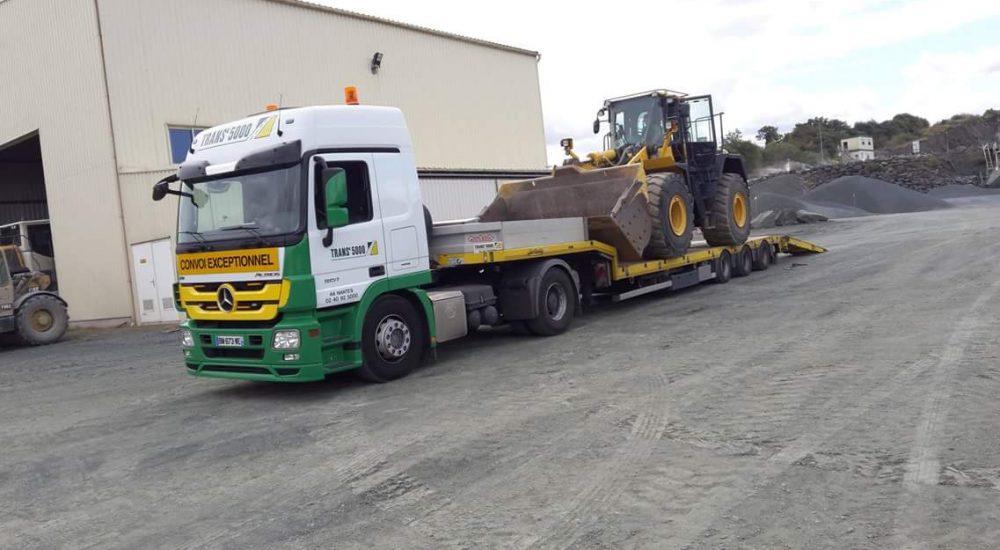 transport matériel TP et chantier trans5000